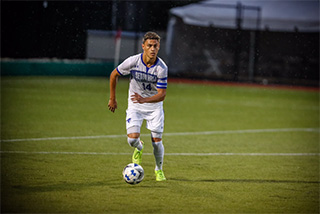 Nick Najera is team captain for Seton Hall Soccer