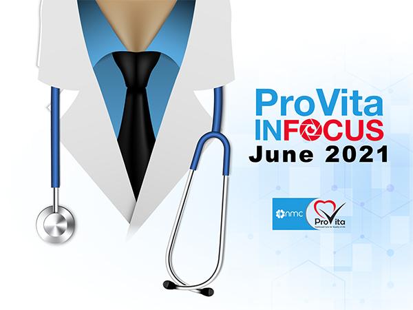 Provita Infocus for the month of june 21
