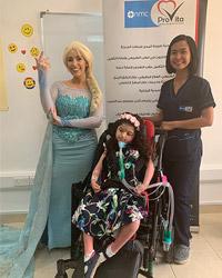 NMC ProVita activity for pediatrics at AbuDhabi facility