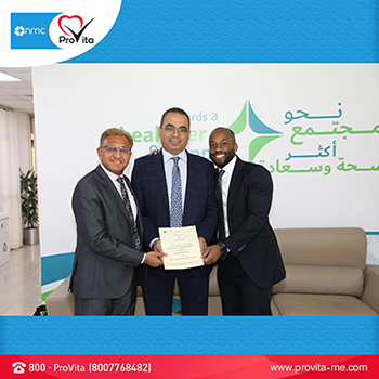 NMC ProVita signs MOU with DHA