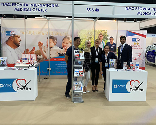 NMC ProVita is Silver Sponsor for Al Dhafra Hospitals First Health Forum