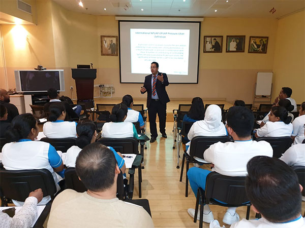 NMC Trading in collaboration with its partner in Patient Care segment, Arjo, Clinical workshops at NMC Specialty Hospital Abu Dhabi,