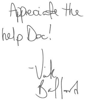 Vick Ballard  Review