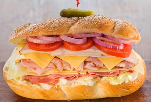 A dagwood sandwich.