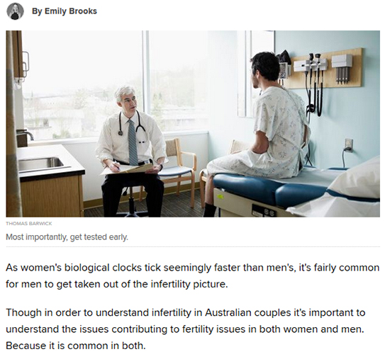 A Closer Look At Men's Fertility, Because It's Not Just About Women