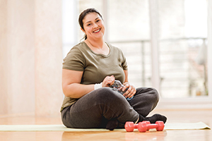 Exercise makes the blood of obese people healthier