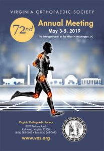 Dr. Miyamoto has been named the program co-chair for the 2019 Virginia Orthopaedic Society meeting at the Intercontinental at the Wharf in Washington D.C. from May 3-5, 2019.