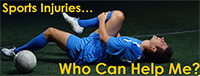 Sports Injuries, Who Can Help Me