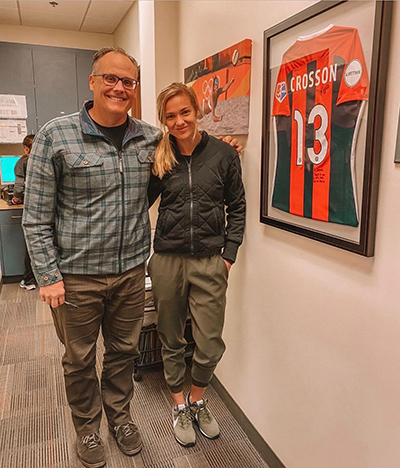 Congratulaions Megan Crosson - Houston Dash of the NWSL