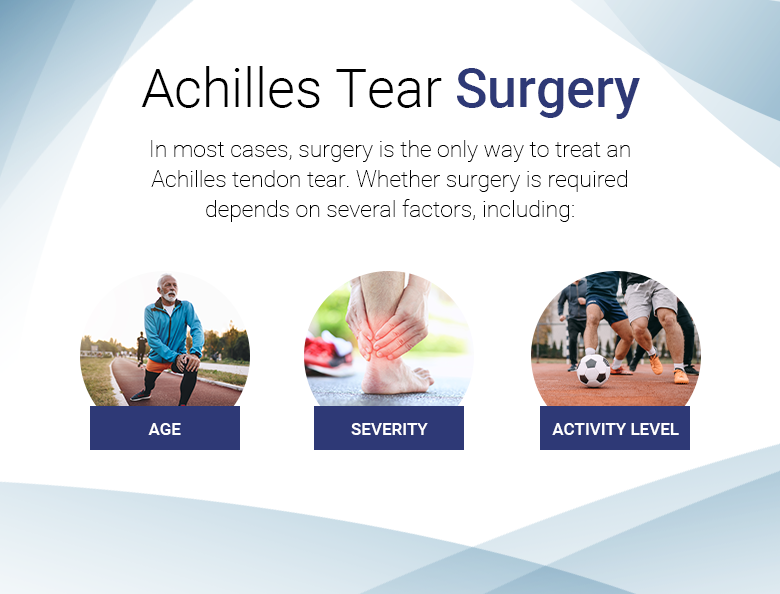 achilles tear surgery
