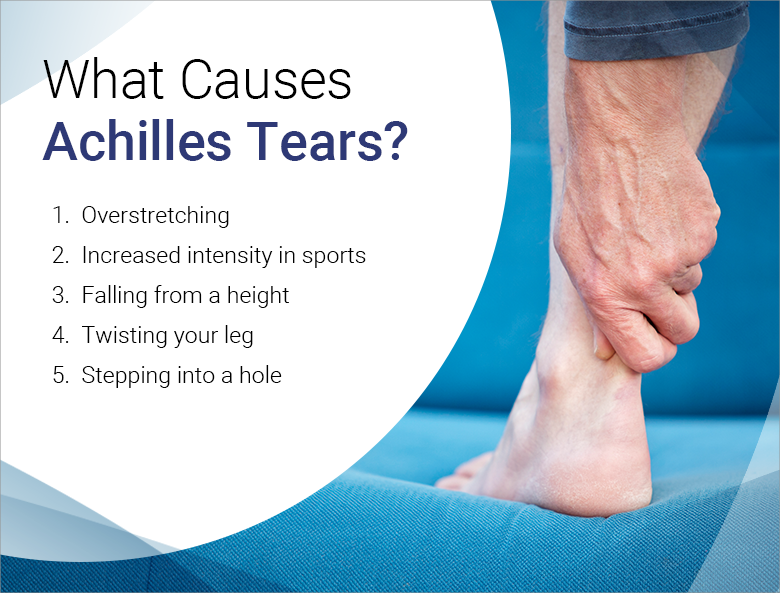 what causes Achilles tears