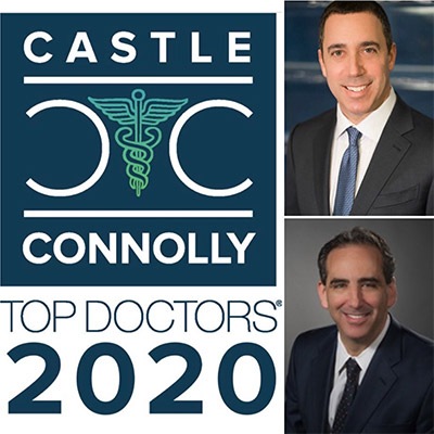 Drs. Steve Beldner and Dan Polatsch were again named Castle Connolly Top Doctors in 2020!